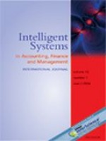 Intelligent Systems in Accounting, Finance & Management