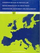 European Review of Private Law