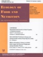 Ecology of Food and Nutrition